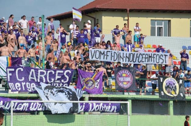 FC Argeş joacă în Trivale de Paşti