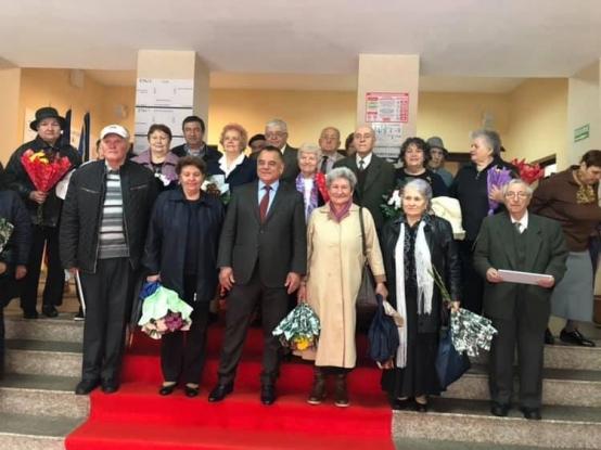 Au fost premiate încă 28 de cupluri longevive la Piteşti