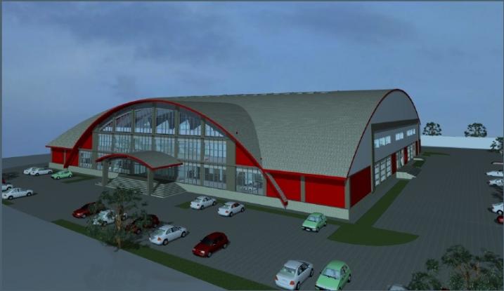 23.000 de euro, fără TVA, actualizarea proiectului pentru avizul ISU la sala sporturilor din Mioveni