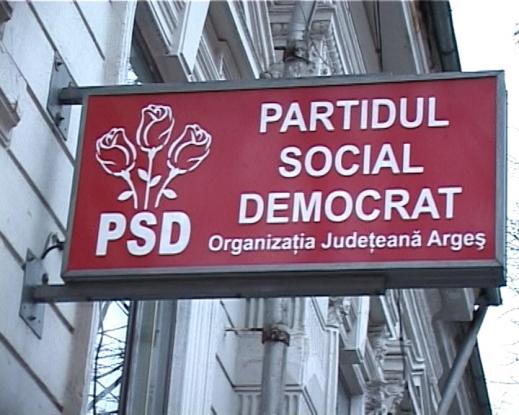 PSD Argeş, în scădere în topul filialelor