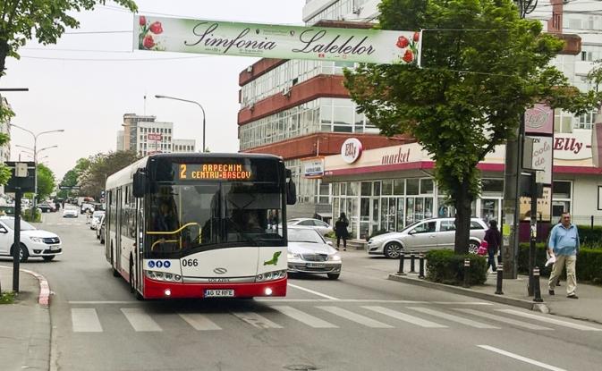 Trasee deviate pentru autobuzele Publitrans