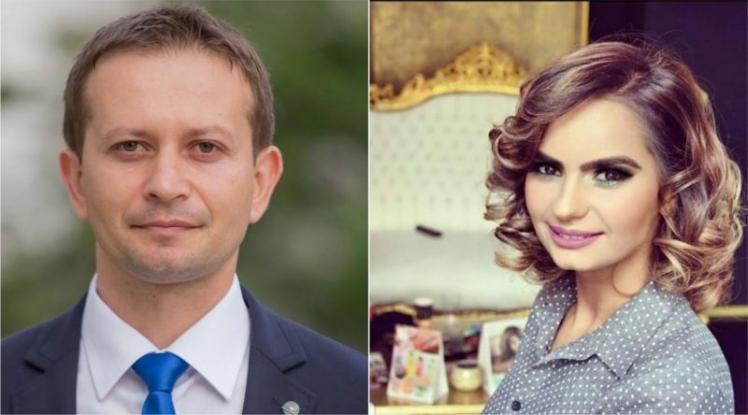 Ionuţ Popescu şi Aura Grigorescu - la cununia civilă