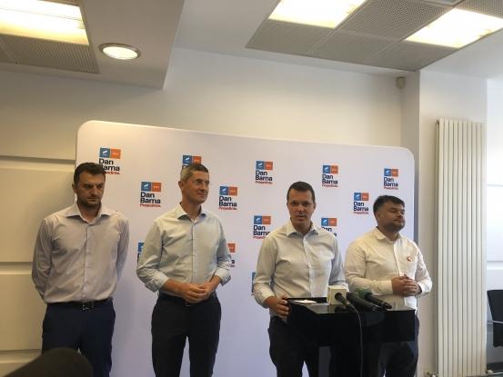 Dan Barna e convins că USR - PLUS va câştiga Primăria Piteşti