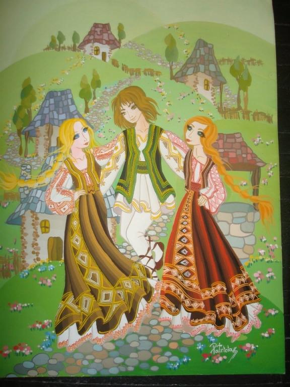 Imaginea culturilor tradiționale în lume, în viziunea copiilor - la muzeul Goleşti