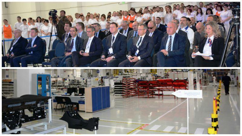 S a inaugurat fabrica de componente auto de la c teasca - Faurecia interior systems ...